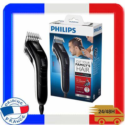 tondeuse cheveux filaire secteur 11 reglages de longueur hommes anti  bourrage | ebay