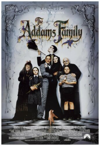 The Addams Family Movie Poster Full Color Print - Wall Art - 24x36""