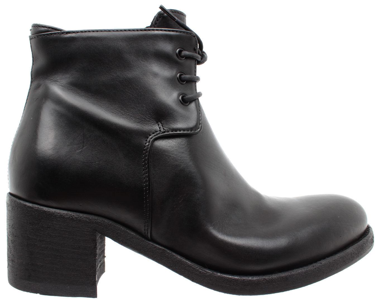 PANTANETTI Zapatos Mujeres botas botas botas 11766F Nebula negro Guga 914 Negro Piel New  más orden