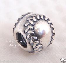 PANDORA Baseball Charm Sterling Silver 790969 Authentic