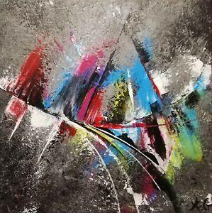 Tableau-abstrait-contemporain-29x29-cm-uvre-originale-de-Audrey-Granjeaud