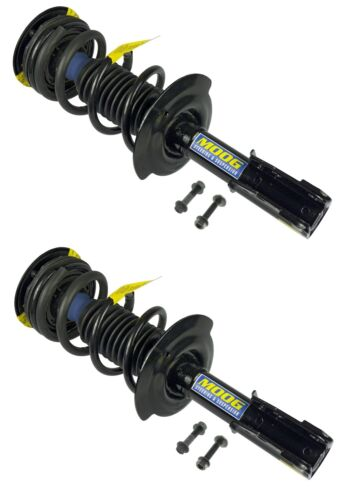 Pair Set 2 Front Strut and Coil Springs with Lower Mounting Hardware for Pontiac