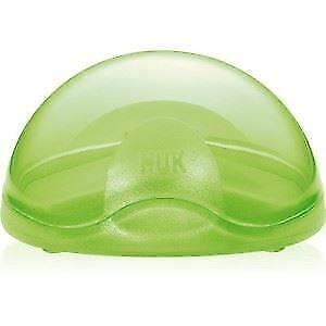 NUK Soother Travel Pod Green  1 2 3 6 12 Packs