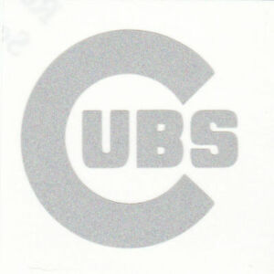 REFLECTIVE-Chicago-Cubs-fire-helmet-decal-sticker-up-to-12-inches