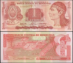 Honduras 1 Lenpira. NEUF 26.08.2004 Billet de banque Cat# P.84d