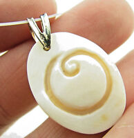 M M Scognamiglio Italy Sterling Cameo Initial O Necklace Pendant $89.95