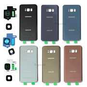 OEM Battery Back Door Glass Cover Replacement For Samsung Galaxy S8 & S8 Plus