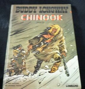 French-Comic-Book-EO-Buddy-Longway-Chinook-Please-Read