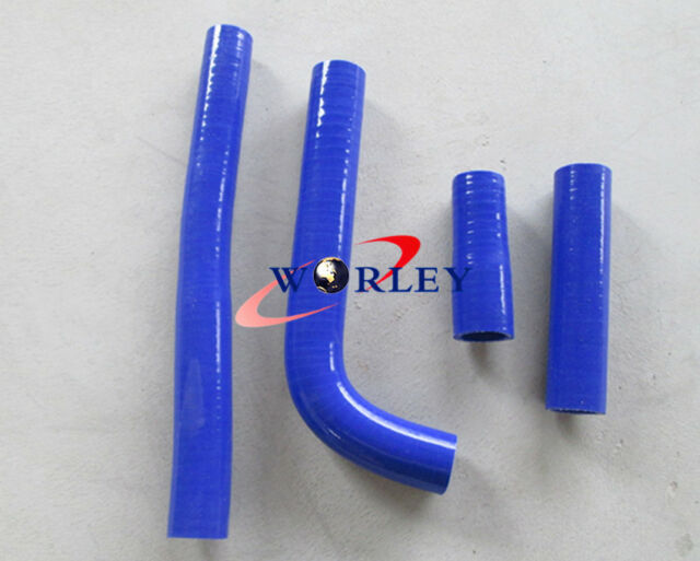 For Yamaha YZ400F WR400F YZ426F WR426F 1998-2002 Silicone radiator hose BLUE