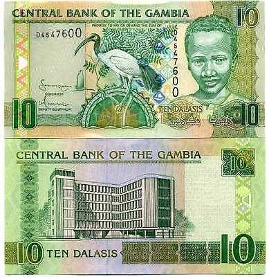 Diplomatisch Gambie - Gambia Billet Neuf De 10 Dalasis Pick 26 Unc Goedkope Verkoop 50%