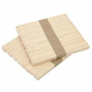 50tlg Set en bois épilation cire Spatule langue depressor Tatouage Medical bâton