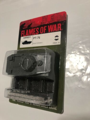 FLAMES OF WAR AAR031 PT-76 SCOUT COMPANY