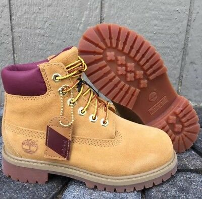 Preschool Timberland 6 inch Wheat Suede Boot TB012709 100/% WATER PROOF Durable