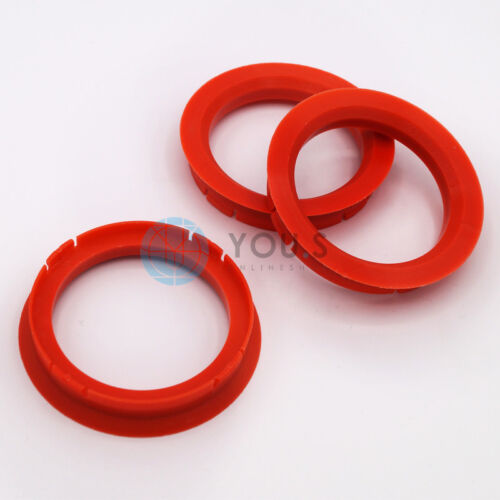 3 x anillas de centrado anillo distanciador para llantas de aluminio z33 70,0-56,6 mm Alutec Anzio
