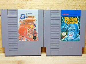 NES Video Game Lot Double Dribble & Fester's Quest Authentic Tested Nintendo