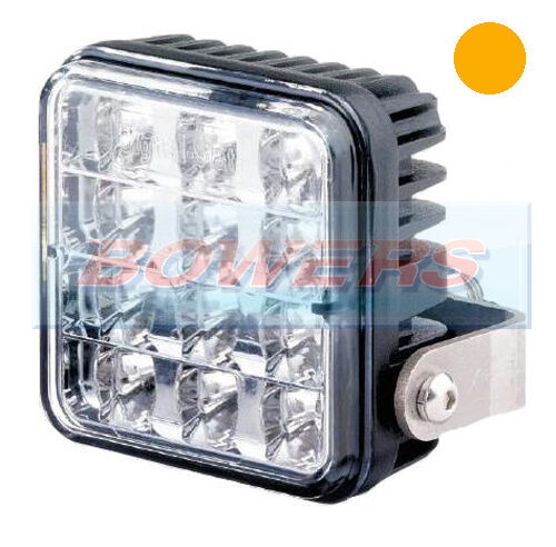 TRUCK LITE VARIPOD 12V//24V 12 LED AMBER STROBE//HAZARD//WARNING LAMP//LIGHT