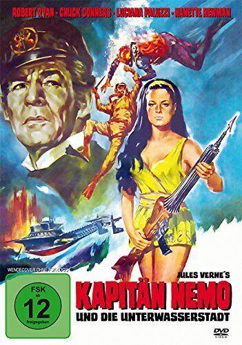 DVD Unter Kapitän Nemo und die Unterwasserstadt deutscher Ton 1969 jules verne