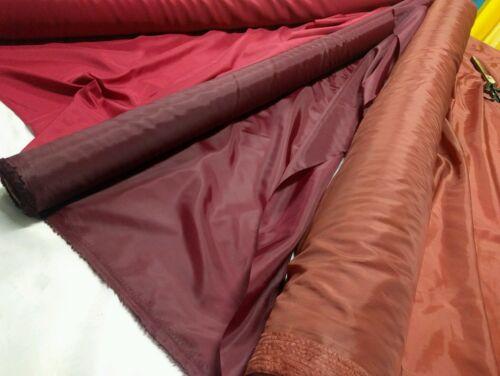 Rouge 3 nuances-polyester-doublure tissu matériau 150 Cm Large//50gsm