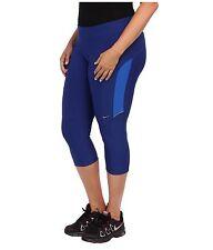 Womens NIKE DRI-FIT Filament Yoga Capri pant PLUS Size 1X xxl 18 20  Blue