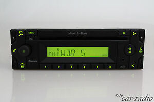 Original-Mercedes-Truck-Base-High-24v-Truck-Radio-mp3-Bluetooth-Microphone-Aux-in-BT