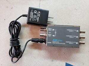 AJA-D5CE-Serial-Digital-Encoder-Composite-Component-Analog-w-DWP-Power-Supply