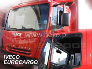 Windabweiser IVECO EURO CARGO//STRALIS//TECH 2002-2008 2-tlg HEKO