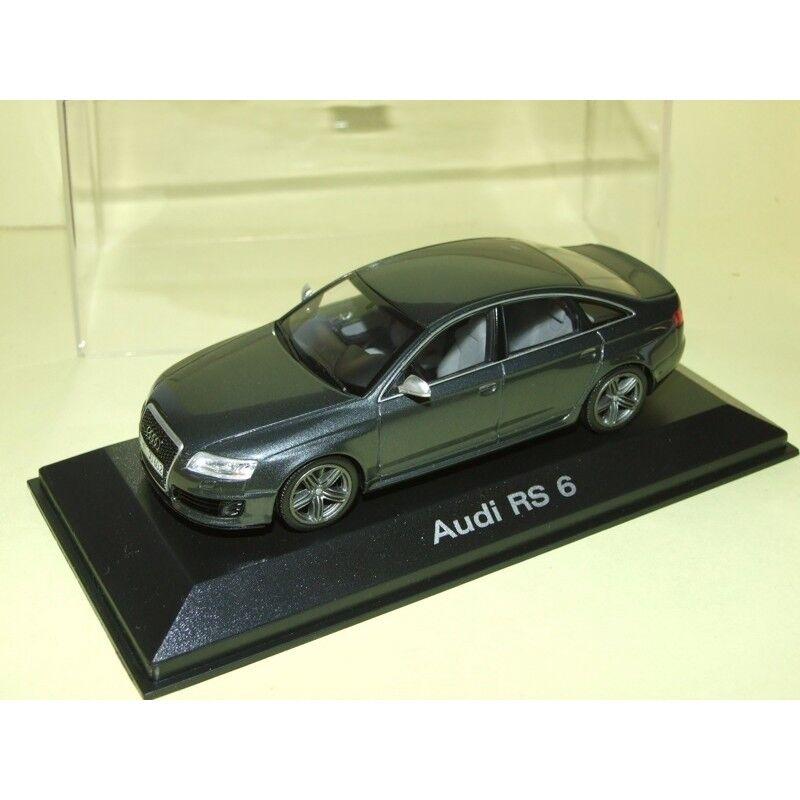 Audi rs6 c6 c6 c6 gris foncé Minichamps 1 43 fbe515