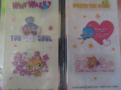 pochettes  Stickers Pet Shop  Décalcomanies à sec