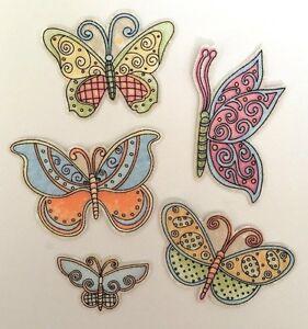 Set-of-10-Little-Butterflies-Iron-On-Fabric-Appliques