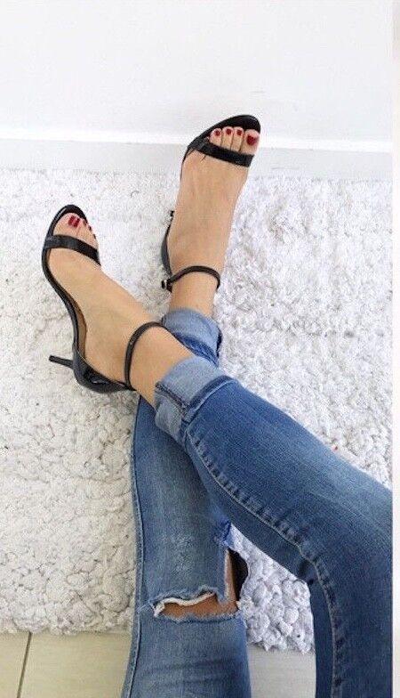 Sam Edelman Patti schwarz patent heels heels heels Größe 9.5 new medium 2436cd