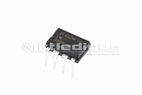 Texas Instruments LM386N-4//NOPB Audio Amplifier 8-Pin MDIP Mono