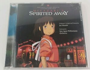 Miyazaki S Spirited Away Authentic Music Cd Soundtrack 2001 Nibariki English Ebay