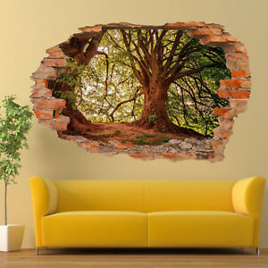 Adesivi Murali 3d Grandi.Dettagli Su Vecchia Foresta Grandi Querce Adesivi Murali 3d Arte Murale Camera Ufficio Negozio Decor Sb6 Mostra Il Titolo Originale