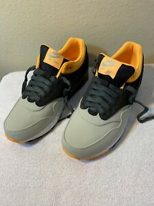 Details Laser Max Pale Size Nike Charcoal 9 About Rare Air 1 512033 008 2013 Orange Greydark PyvN8mwO0n