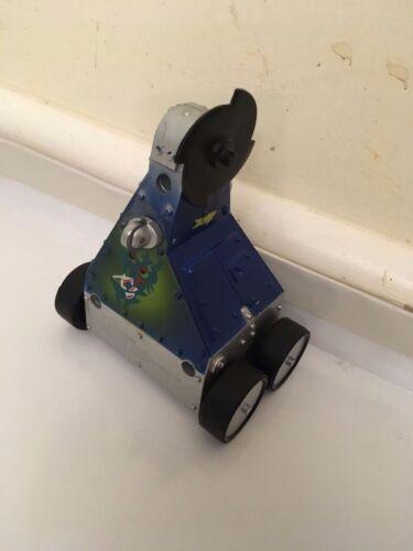 1998 BBC ROBOT WARS BOT Tirez Jouet PUSSYCAT complet très bon état!
