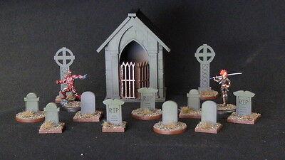 Wargames Scenery Water Graveyard & Cemetery Kit Wild West - Great for Malifaux