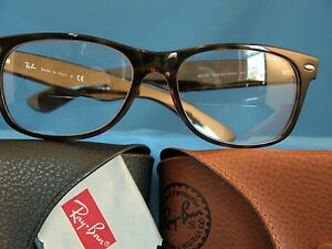 8aa55217db AUTHENTIC RAY BAN 2132 NEW WAYFARER READING GLASSES  SINGLE VISION ...