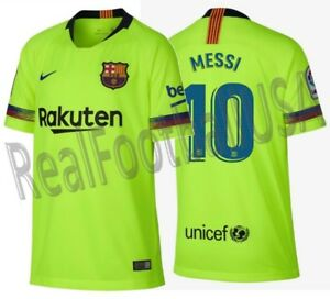 3f03edcf4 Image is loading NIKE-LIONEL-MESSI-FC-BARCELONA-AWAY-YOUTH-JERSEY-