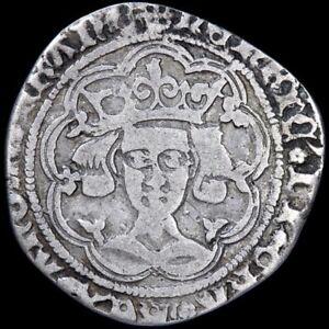 Henry VI, 1422-61. Groat, Rosette-Mascle Issue, 1422-30. Calais Mint.
