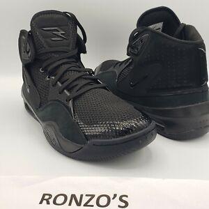 Nike-Dangeruss-Wilson-1-Trainer-Shoes-Black-Metallic-Gold-AO0846-017-Size-11-5