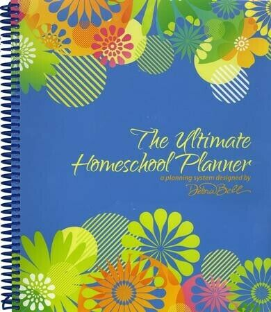 The Ultimate Homeschool Planner (Blue Cover)