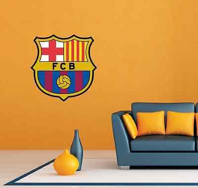 "FC Barcelona Barca Spain Football Soccer Wall Decor Sticker Decal 22""X22"""