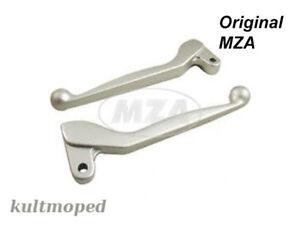 Simson SET Brake lever + Clutch lever ALU solid matt silver S51 S53 S70 S83 SR