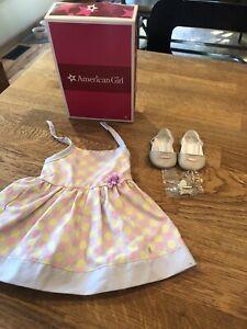 American-Girl-Chrissa-039-s-Polka-Dot-Sundress-and-Sandals-F9307-BF1A-Box