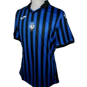 Details about ATALANTA Joma 2020-2021 Home Sponsorless Football Shirt NEW Soccer Jersey Maglia