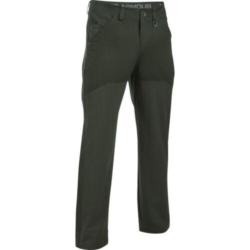 $125 UNDER ARMOUR 1297462 Storm Logger Pants Men/'s Cotton Artillery Green 30//32