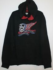 Polo Ralph Lauren Denim & Supply Mens Black Skull Pullover Hoodie ...
