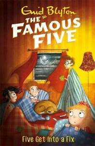 Five-Get-Into-A-Fix-Book-17-Famous-Five-Blyton-Enid-New