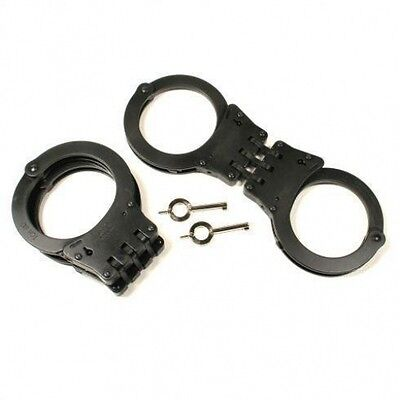 TCH 830B Covert Black Superior XL Police an security Handcuffs