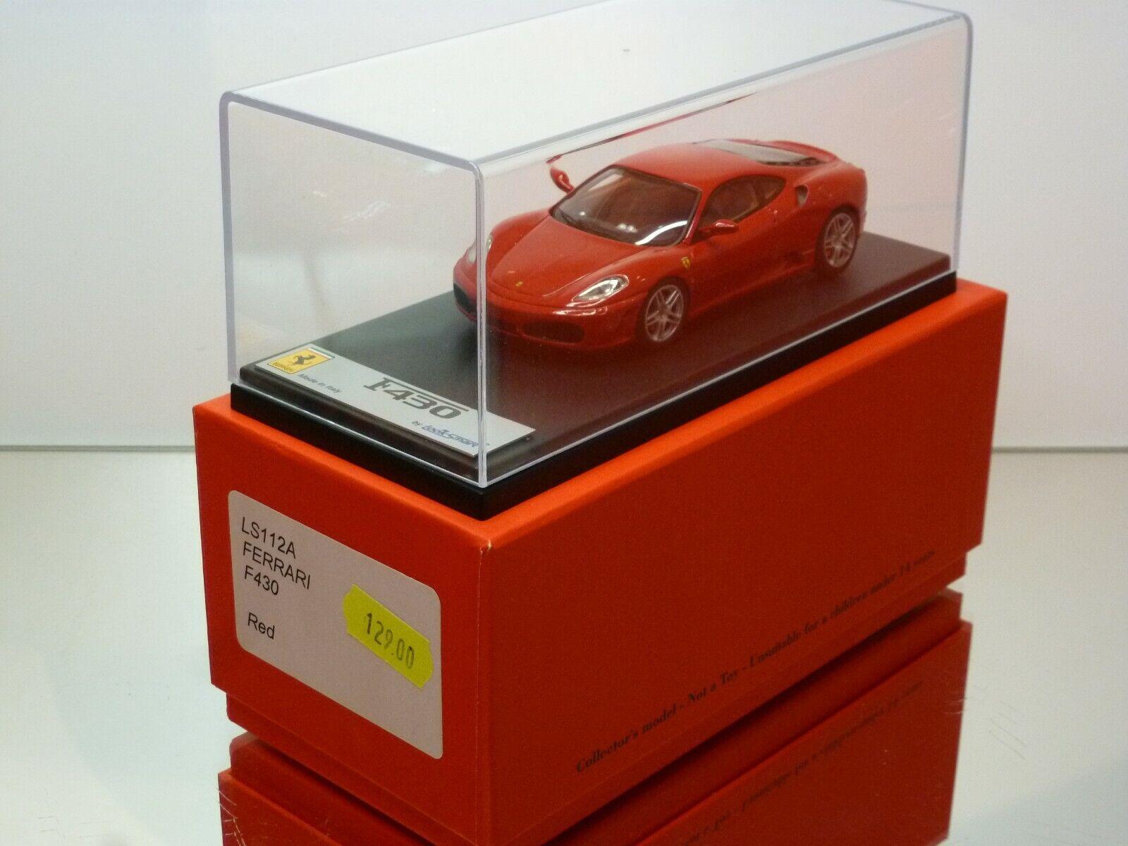 LOOKSMART LS112A FERRARI F430 - rouge 1 43 - EXCELLENT IN BOX